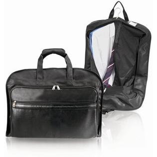 U.S. Traveler Koskin Leather Carry-On Garment Bag in Black at Sears.com