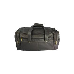 David King 19&amp;#34; Leather Classic Travel Duffel Bag - Color: Black at Sears.com