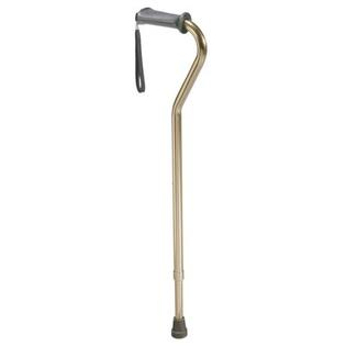 Drive Medical Aluminum Rehab Ortho K Grip Offset Handle Cane with Wrist Strap at Sears.com