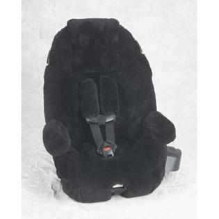 Custom Sheepskin Convertible Car Seat Cover - Seat Model: Britax Roundabout, Color: Pearl