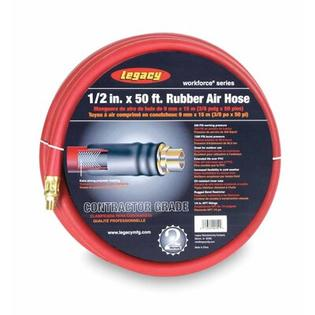 Legacy Mfg 1/2 Id X 50 Rubber Air Hose, 3/8 End at Sears.com