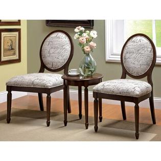 Hokku Designs Quincy 3 Piece Cotton Slipper Chair and Table Set at Sears.com