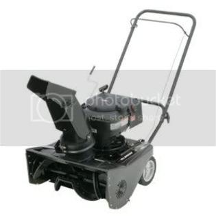 Murray 1695537 21-Inch 190cc 4-Cycle OHV Briggs &amp; Stratton Snow Series Gas Powered Single Stage Snow Thrower at Sears.com