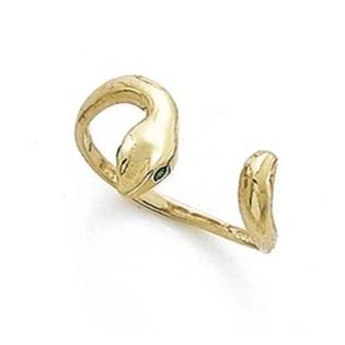 Jewelryweb 14k Enamel Eyes Snake Toe Ring at Sears.com