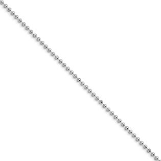 Jewelryweb Stainless Steel 2.4mm Ball Chain Necklace - 18 Inch at Sears.com