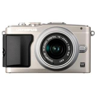 Olympus PEN E-PL5 Digital Camera Body + 14-42mm II R Lens (Silver/Silver) at Sears.com