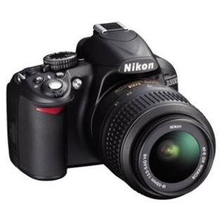 Nikon D3100 Digital SLR Camera + 18-55mm G VR DX AF-S Zoom Lens - Factory Refurbished includes Full 1 Year Warranty at Sears.com