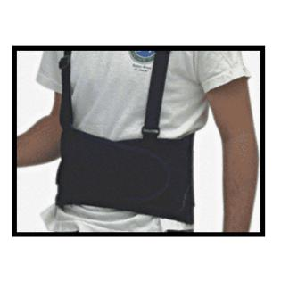 Crl Small Back Belt With Suspenders