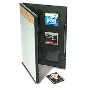 GEPE Cardsafe CF Card Holder In DVD Case, Holds 6 at Sears.com