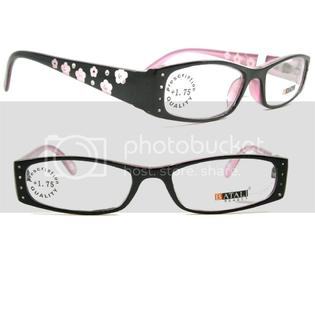 Crystal Case Purple Flower Crystal Rhinestone Fashion Reading Glasses +2.50 at Sears.com