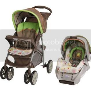 Graco LiteRider Travel System - Peek A Pooh Friends at Sears.com