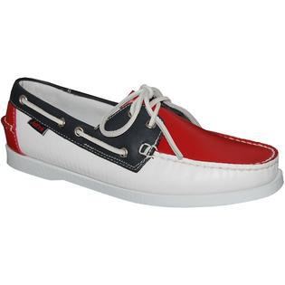 AMERICAN SHOE FACTORY OVERSTOCK SALE Leather Upper Men&#039;s Boat Shoes at Sears.com