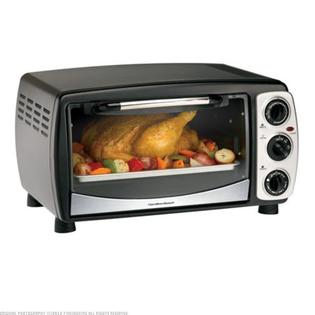 Findingking&nbsp; Hamilton Beach Convection 6 Slice Toaster/Oven Broiler
