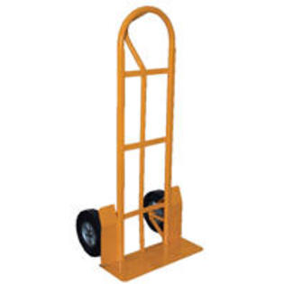 "Vestil SPHT-500S-HD  Steel ""P"" Handle Hand Truck with 10"" x 3-1/2"" Pneumatic Wheels at Sears.com"
