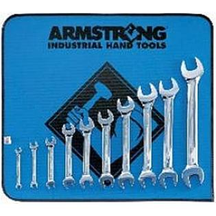 Armstrong Tools Armstrong 53-273 10 Pc Metric Full Polish Open End Wrench Set at Sears.com