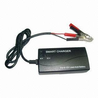 Titan by BatteryJack inc. 3 Stage Lead-acid Battery Smart Charger for 6V and 12V batteries at Sears.com
