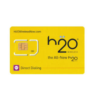 H2O Sim Card H2O PAY AS YOU GO SIM at Sears.com