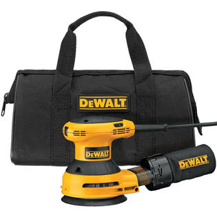 DeWALT D26453K 5&amp;#34; Variable Speed Random Orbital Sander Kit - Electric at Sears.com