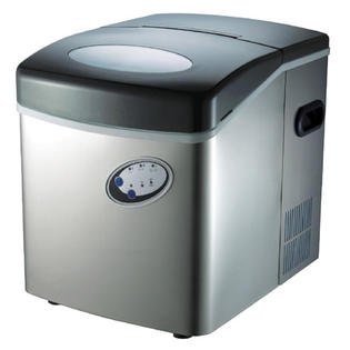 MicroLux ML350SS 35lb Portable Automatic Ice Cube Maker Machine at Sears.com