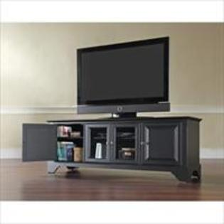 Modern Marketing KF10005BBK LaFayette 60 in. Low Profile TV Stand in Black Finish at Sears.com