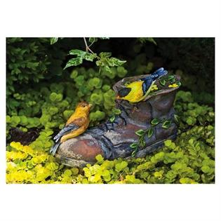 Evergreen Enterprises 842174 Winged Impression Garden Boot Statuary at Sears.com