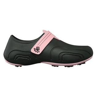 USA Dawgs WUG6168 DAWGS Womens Ultralite Golf Shoes - Black-Soft Pink - Size 10 at Sears.com