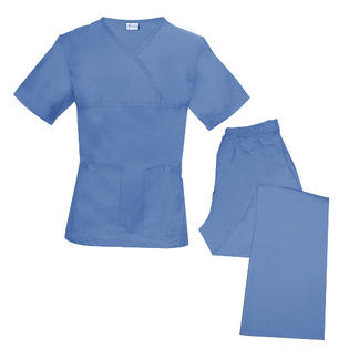 Spectrum Uniforms 844064001166 Tops-Pants Sets - Cblue - Size 2X at Sears.com