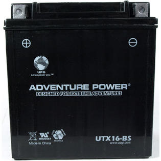 Universal Power UTX16-BS Dry Charge AGM 12 Volt Battery at Sears.com