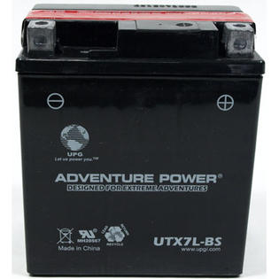 Universal Power UTX7L-BS Dry Charge AGM 12 Volt Battery at Sears.com