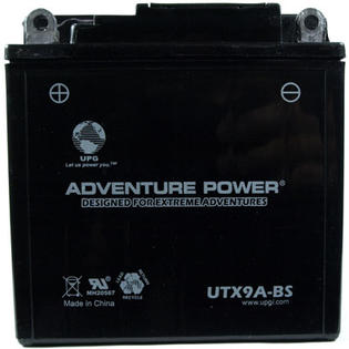 Universal Power UTX9A-BS Dry Charge AGM 12 Volt Battery at Sears.com