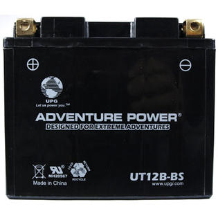 Universal Power UT12B-BS Dry Charge AGM 12 Volt Battery at Sears.com