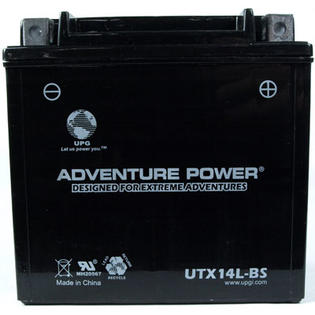 Universal Power UTX14L-BS Dry Charge AGM 12 Volt Battery at Sears.com