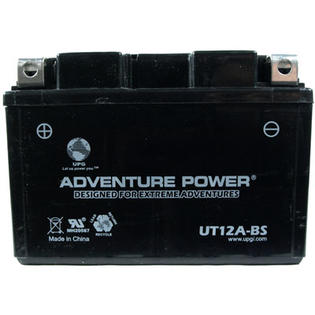 Universal Power UT12A-BS Dry Charge AGM 12 Volt Battery at Sears.com