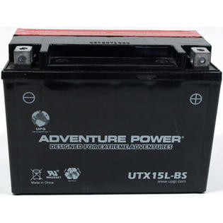 Universal Power UTX15L-BS Dry Charge AGM 12 Volt Battery at Sears.com