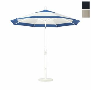 California Umbrella GSCU908913-SA08 9 ft. Aluminum Market Umbrella Collar Tilt - Sand-Pacifica-Black at Sears.com