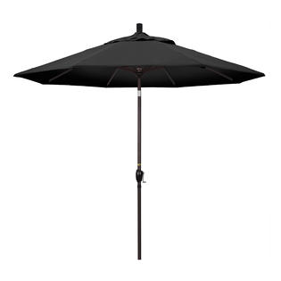 California Umbrella GSPT908117-F32 9 ft. Aluminum Market Umbrella Push Tilt - Bronze-Olefin-Black at Sears.com