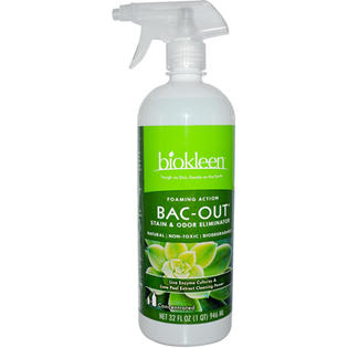 Biokleen 0456970 Bac-Out Stain and Odor Eliminator with Foaming Sprayer - 32 fl oz at Sears.com