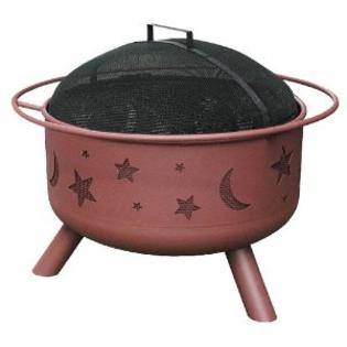 Landmann USA 28338 Big Sky Stars and Moons Fire Pit&amp;#44; Georgia Clay at Sears.com