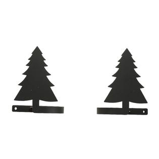 Village Wrought Iron CUR-TB-42 Pine Tree Tie Backs at Sears.com