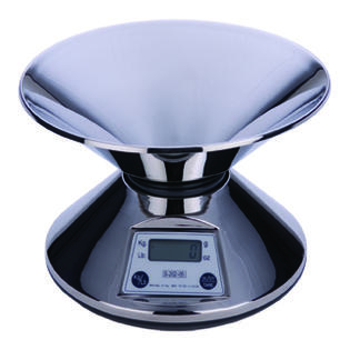 Miu France 202 Stainless Steel 2-Pound Digital Kitchen Scale at Sears.com