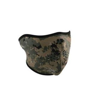 Balboa WNFM169GH Neoprene half Face Mask&amp;#44; Digital Green Camouflage at Sears.com