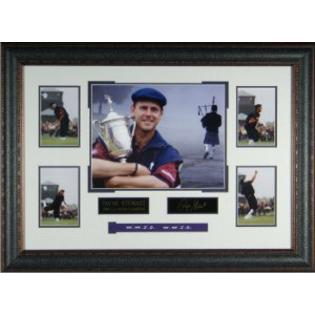Athlon Sports Collectibles Payne Stewart unsigned US Open Eng Signature 22x33 Tribute Frame at Sears.com