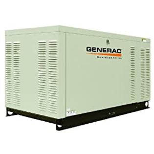 Generac QT02515GNSX 25-Kilowatt Liquid-Cooled Automatic 3-Phase Standby Generator, 3,600 RPM, 120/208-Volt at Sears.com