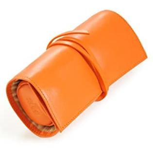 Cathy&#039;s Concepts Leather Jewelry Roll, Mandarin Orange at Sears.com
