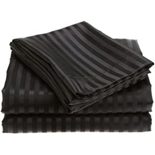 Divatex Home Fashions Royal Opulence Woven Satin Stripe Sheet Set at Sears.com