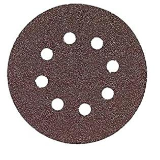 Bosch SR5R182 Random Orbit Sander Hook and Loop 8 Hole Disc 5-Inch 180 Grit Sand Paper, Red, 25-Pack at Sears.com