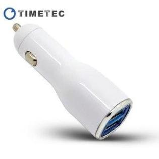 TimeTec Powerup Twin/Dual Universal USB Port 5V/2A 10w (fast) Heavy Duty Ouput Car Charger Vehicle Power Adapter for Smart Phone at Sears.com
