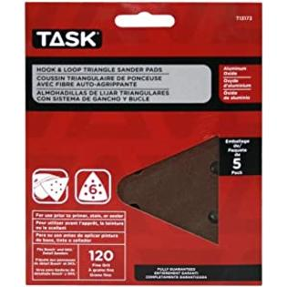 Task Tools T13173 Hook and Loop Triangle Sanding Disc for Bosh and Skil at Sears.com