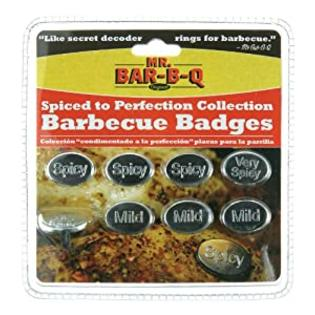 Mr. Bar-B-Q, Inc. 40164X BBQ Badges Spiced To Perfection Collection, 8-Piece at Sears.com