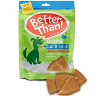 Better Than Ears Premium Dog Treats, Peanut Butter Flavor, 36-Count Pouch at Sears.com